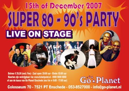 Super 80s-90s Party