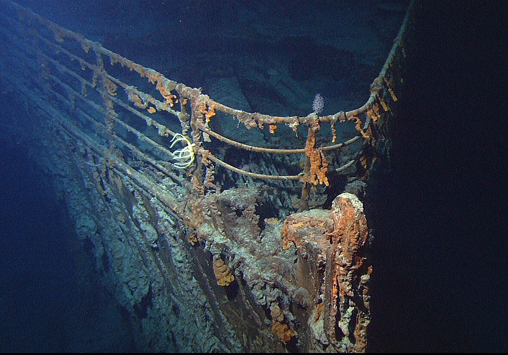 Ontdekking Titanic