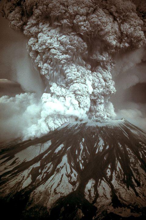 18 mei 1980 – eruptie van Mount St. Helens